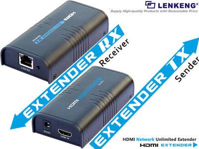 HDMI extender over lan LKV373(HDMI Extender over cat6)
